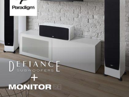 Paradigm Defiance + Monitor SE Sale!